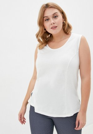 Майка Darissa Fashion. Цвет: белый