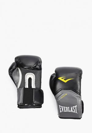 Перчатки боксерские Everlast Pro Style Elite. Цвет: черный