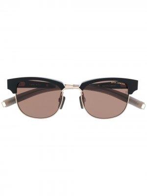 Солнцезащитные очки LSA-410 в квадратной оправе Dita Eyewear. Цвет: черный