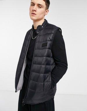 Черный жилет Marcus-Черный цвет Barbour International