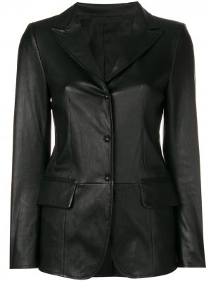 Lord press stud fitted jacket Sylvie Schimmel. Цвет: черный