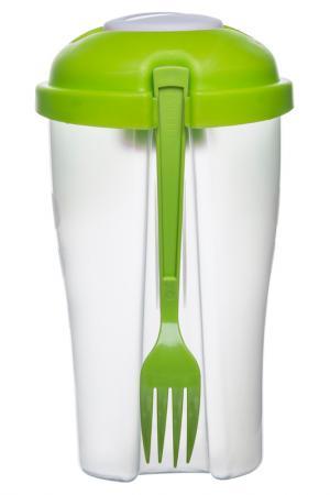 Контейнер для салата Sagaform. Цвет: зеленый