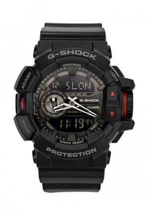 Часы Casio G-SHOCK GA-400-1B. Цвет: черный