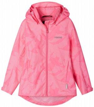 Куртка для девочек Valko, размер 140 Reima. Цвет: розовый