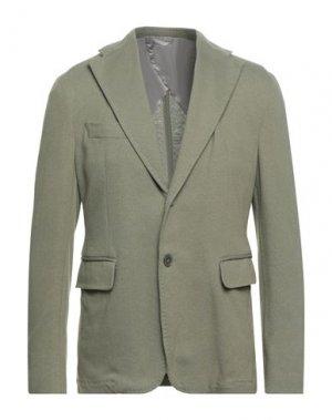 Пиджак JOHN SHEEP. Цвет: шалфейно-зелёный