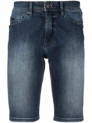 Джинсовые шорты BOSS. Цвет: синий