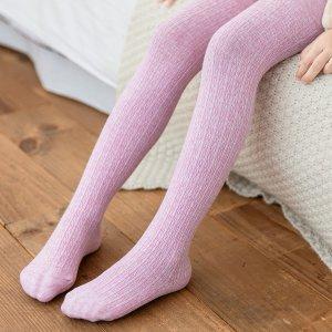 Для девочек Колготки SHEIN. Цвет: пыльный розовый