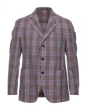 Пиджак GABRIELE PASINI. Цвет: розовато-лиловый