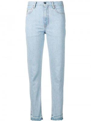 Выбеленные зауженные джинсы Marcelo Burlon County Of Milan