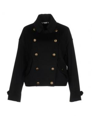 Куртка GIO' MORETTI. Цвет: темно-синий