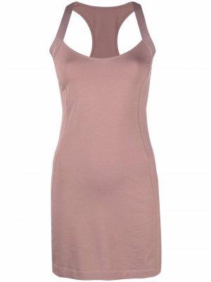 Платье D-Ela в спортивном стиле Diesel. Цвет: розовый