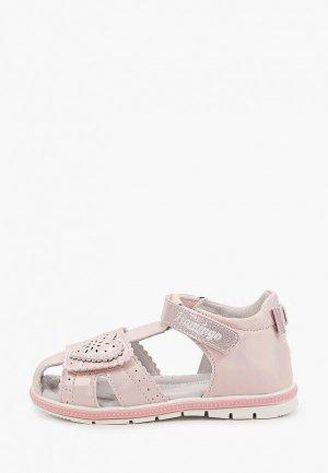 Сандалии Flamingo. Цвет: розовый