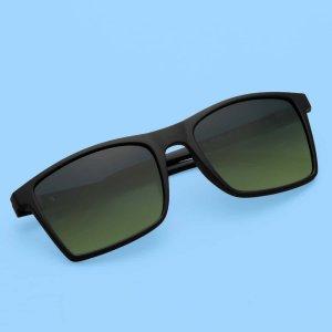 Мужские поляризованные солнцезащитные очки SHEIN. Цвет: многоцветный