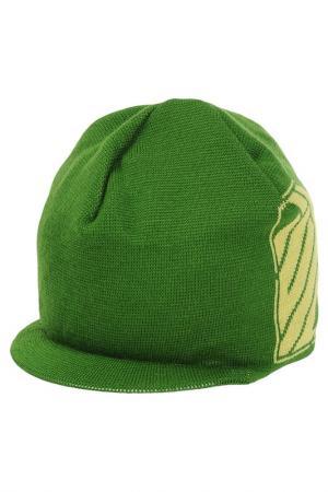 Шапка IUTER. Цвет: зеленый