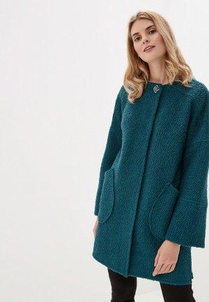 Пальто Argent. Цвет: зеленый