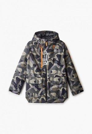 Куртка утепленная Ostin O'stin. Цвет: хаки