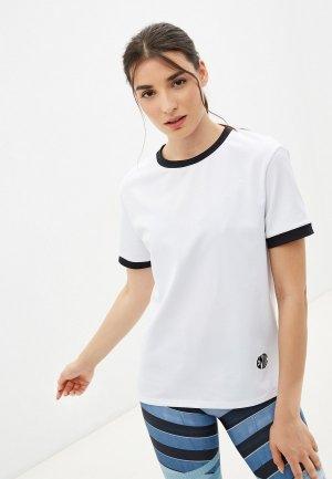 Футболка спортивная Emdi. Цвет: белый