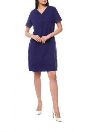 Платье Jil Sander. Цвет: синий
