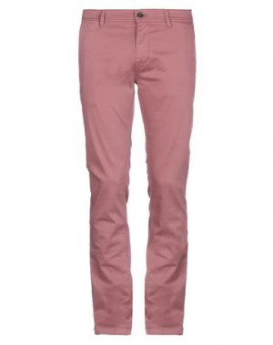 Повседневные брюки BOSS HUGO. Цвет: розовато-лиловый