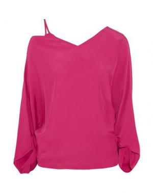Блузка CHALAYAN. Цвет: пурпурный