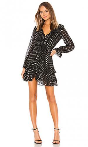 Платье spot Bardot. Цвет: черный