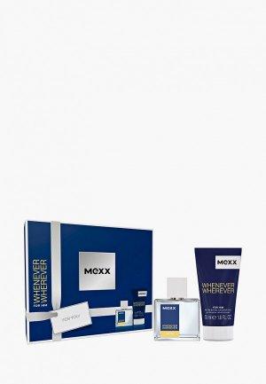 Набор парфюмерный Mexx Туалетная вода 30 мл + гель для душа 50. Цвет: прозрачный