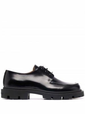 Lace-up Derby shoes Maison Margiela. Цвет: черный