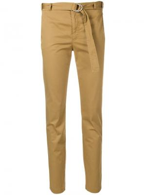 Зауженные брюки Red Valentino. Цвет: нейтральные цвета