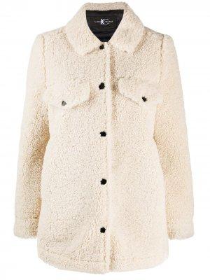 Куртка из шерпы Luisa Cerano. Цвет: белый