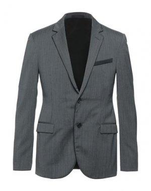 Пиджак LANVIN. Цвет: стальной серый