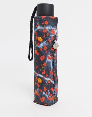 Зонт с леопардовым принтом -Многоцветный Fulton