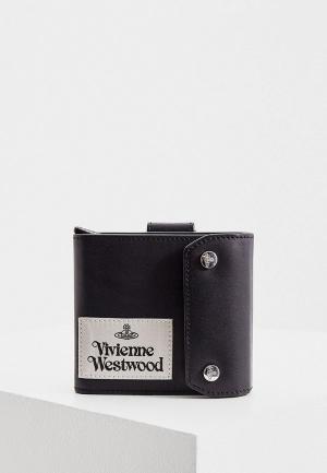 Кошелек Vivienne Westwood. Цвет: черный