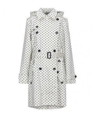Легкое пальто AIGLE. Цвет: белый
