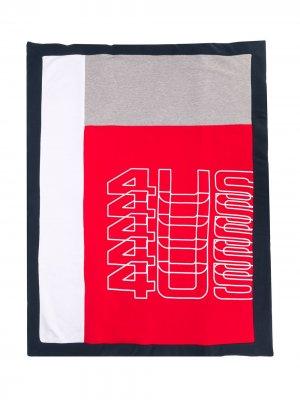Одеяло с логотипом Cesare Paciotti 4Us Kids. Цвет: красный