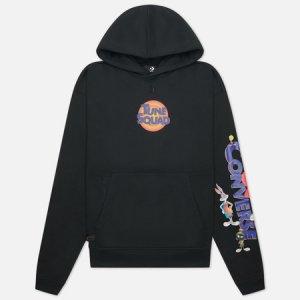 Мужская толстовка x Space Jam A New Legacy Hoodie Converse. Цвет: чёрный