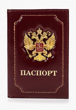 Обложка для паспорта Forte St.Petersburg. Цвет: бордовый