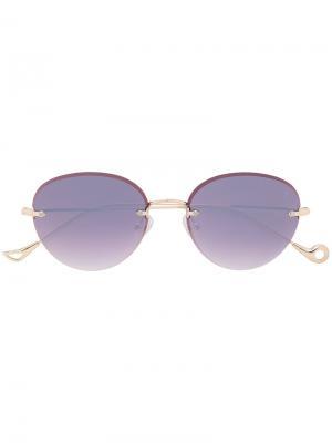 Солнцезащитные очки Cary Eyepetizer. Цвет: розовый и фиолетовый