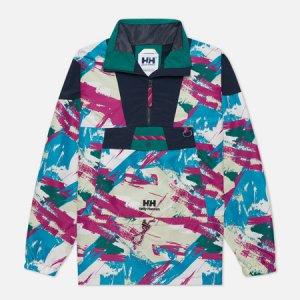 Мужская куртка анорак YU20 Wind Helly Hansen. Цвет: зелёный