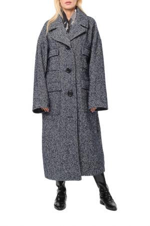Пальто Kata Binska. Цвет: темно-синий