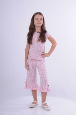 Пижама Arina Ballerina. Цвет: разноцветный