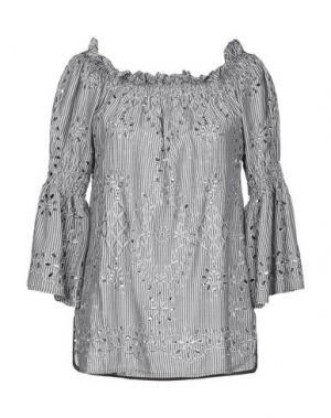 Блузка ANNA RACHELE JEANS COLLECTION. Цвет: серый