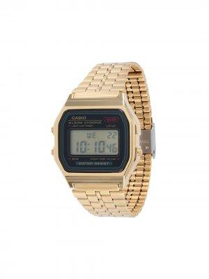 Электронные наручные часы 49 мм G-Shock. Цвет: золотистый