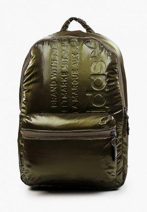 Рюкзак adidas Originals BP PU. Цвет: хаки