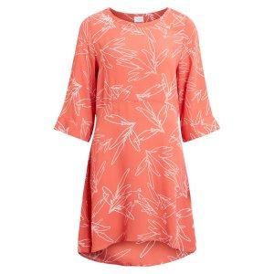 Платье La Redoute. Цвет: оранжевый