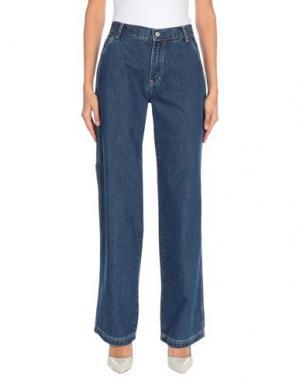 Джинсовые брюки GAP. Цвет: синий