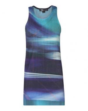 Майка Y-3. Цвет: фиолетовый