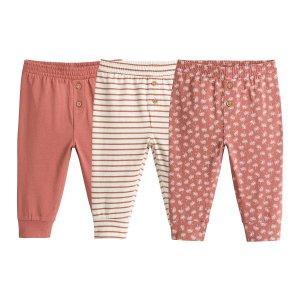Комплект из 3 штанишек LaRedoute. Цвет: другие