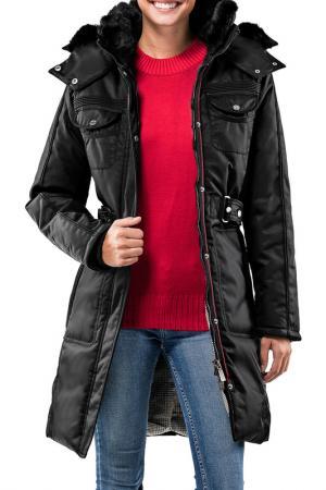 Пальто Vincenzo Boretti. Цвет: black
