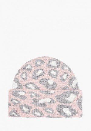 Шапка Fabretti. Цвет: розовый