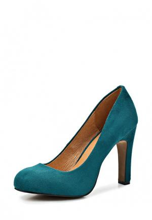 Туфли LA STRADA. Цвет: голубой